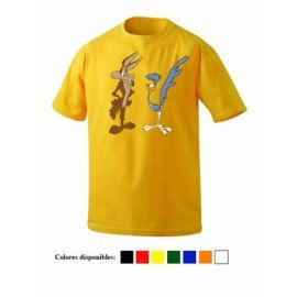 CAMISETA COYOTE Y CORRECAMINOS