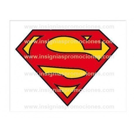 ADHESIVO SUPERMAN LOGO