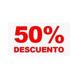 "VINILO CRISTAL ""50%"""