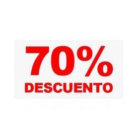 "VINILO CRISTAL ""70%"""