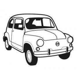 VINILO PARED FIAT 600