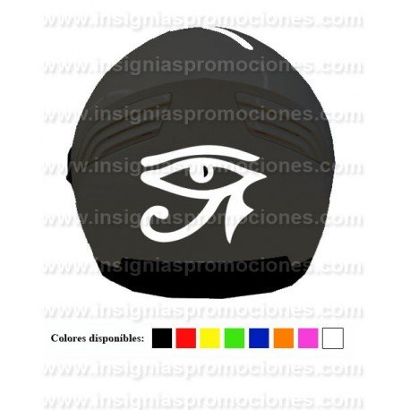 VINILO CASCO TRIBAL EGYPCIAN EYE