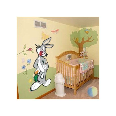VINILO DECORATIVO PARED BUGS BUNNY