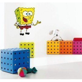 VINILO DECORATIVO PARED BOB ESPONJA