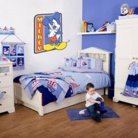VINILO DECORATIVO PARED MICKEY MOUSE LEYENDA