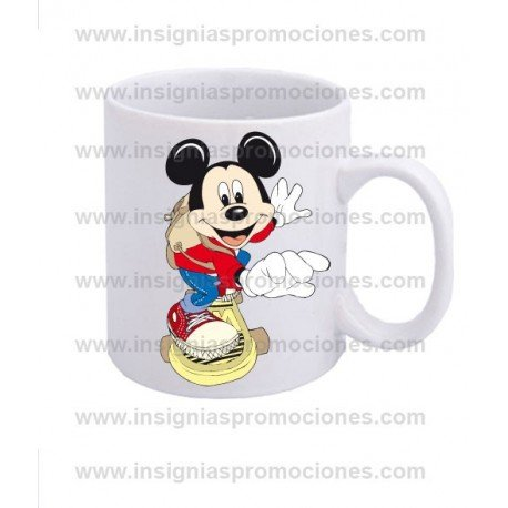 TAZA MICKEY MONOPATIN