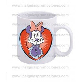 TAZA MINNIE HEART