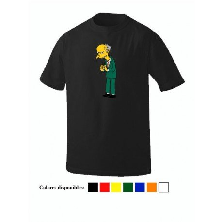 CAMISETA MONTGOMERY BURNS