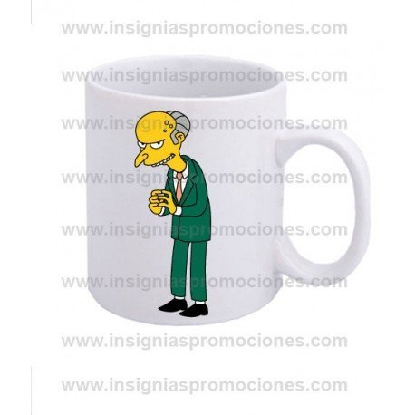 TAZA MONTGOMERY BURNS