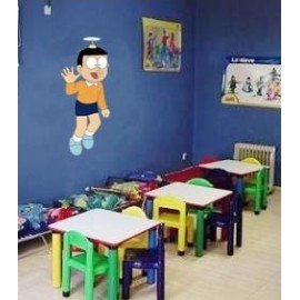 VINILO DECORATIVO PARED NOBITA