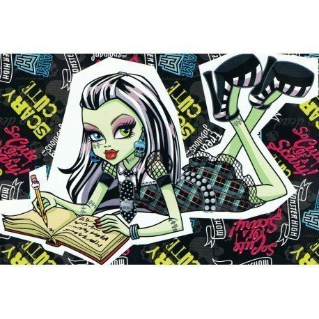 ADHESIVO MONSTER HIGH DRACULAURA