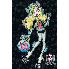 PÓSTER MONSTER HIGH LAGONA BLUE CON PEZ