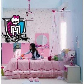 VINILO DECORATIVO LOGO MONSTER HIGH
