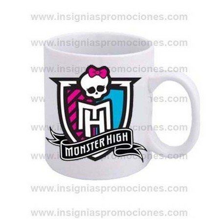 TAZA LOGO MONSTER HIGH