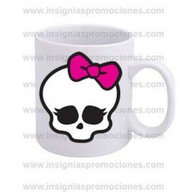 TAZA CALAVERA MONSTER HIGH