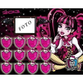 CALENDARIO 2013 MONSTER HIGH DRACULAURA