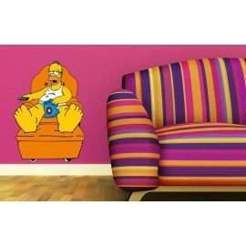 VINILO DECORATIVO HOMER SIMPSONS