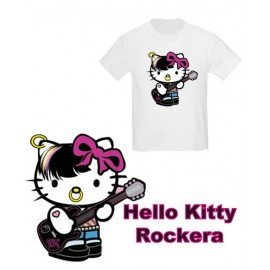 CAMISETA NIÑOS HELLO KITTY ROCKERA