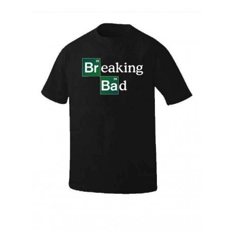 CAMISETA LOGO BREAKING BAD