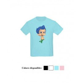 CAMISETA NIÑAS GILBG BUBBLE GUPPIES