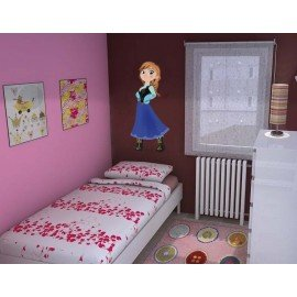 VINILO DECORATIVO ANNA FROZEN