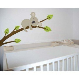 VINILO DECORATIVO PARED KOALA