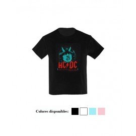 CAMISETA NIÑO AC DC HIGH VOLTAGE